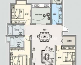 新吴区金梅苑4室2厅2卫130㎡
