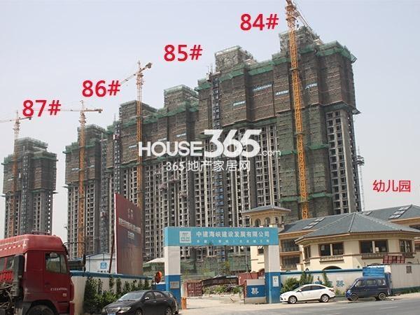 大名城84、85、86、87#工程进度(2015.4)