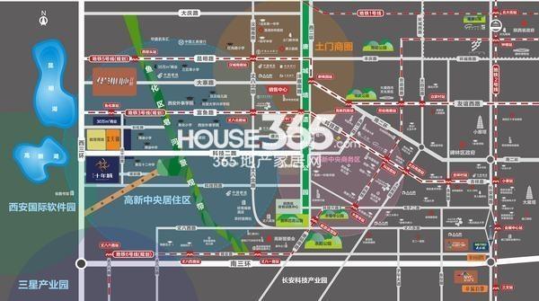 南飞鸿十年城交通图