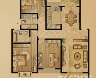 紫兰园大三室出租,环境好,采光好,出行方便