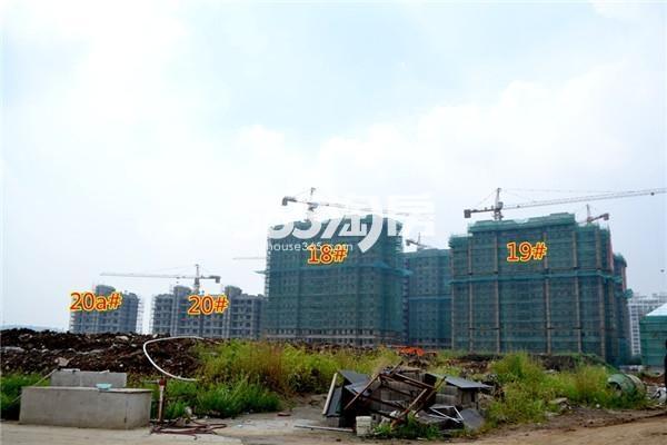 东方蓝海18#、19#、20#、20a#工程进度(2016年8月摄)