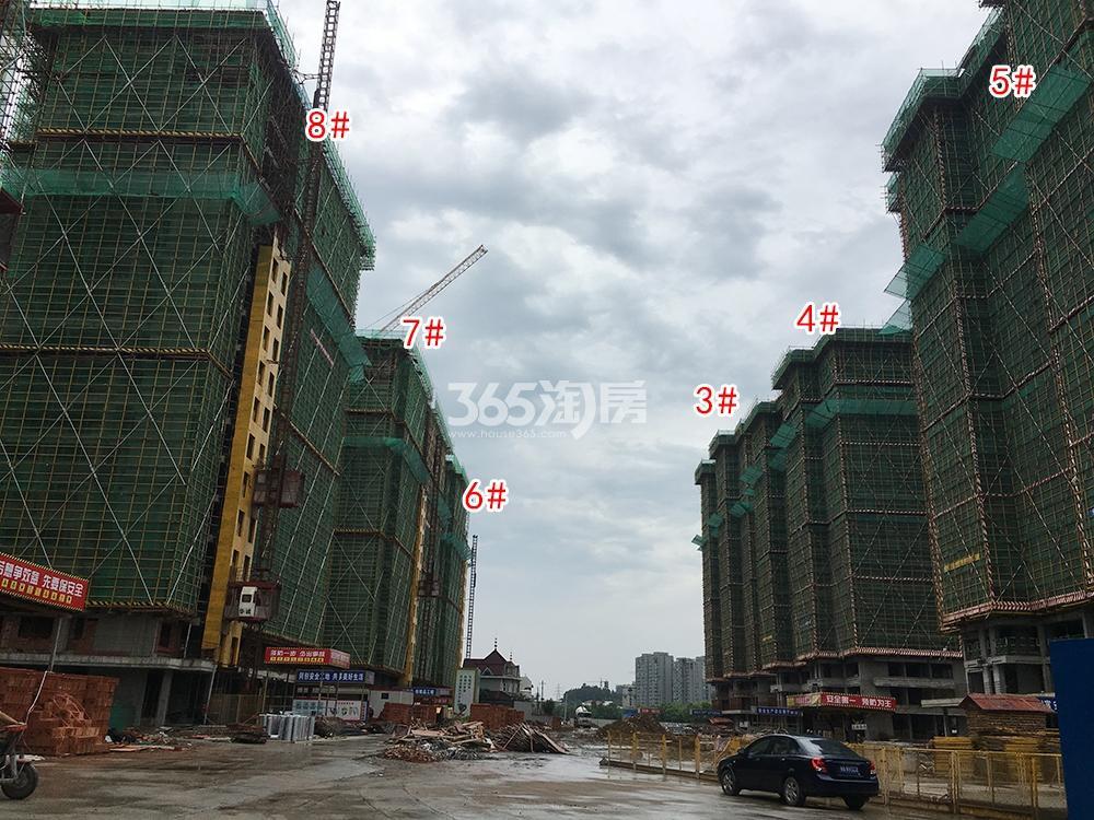 苕溪壹号5.6工程进展(3-8#)