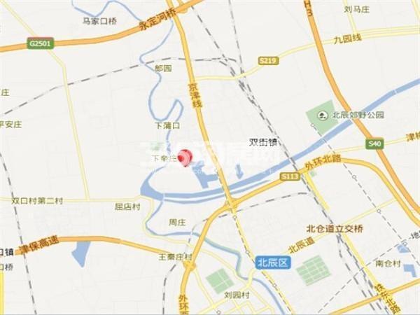 悦蘭台交通图