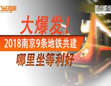 南京9条地铁共建 利好这些区域