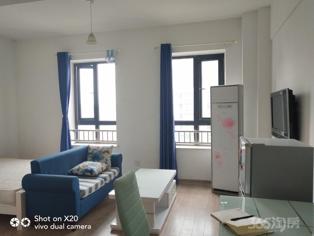 创美华彩国际1室0厅1卫43平米整租精装!