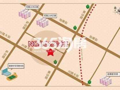上海建工河西中部G68地块交通图