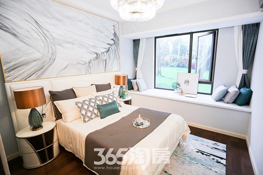伟星公园天下林语约150平样板间-卧室