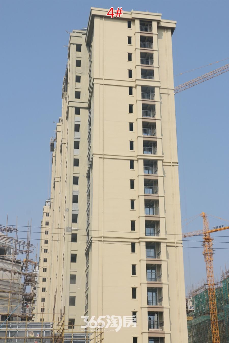 信德悦城4#楼最新工程进度图(2018.3摄)