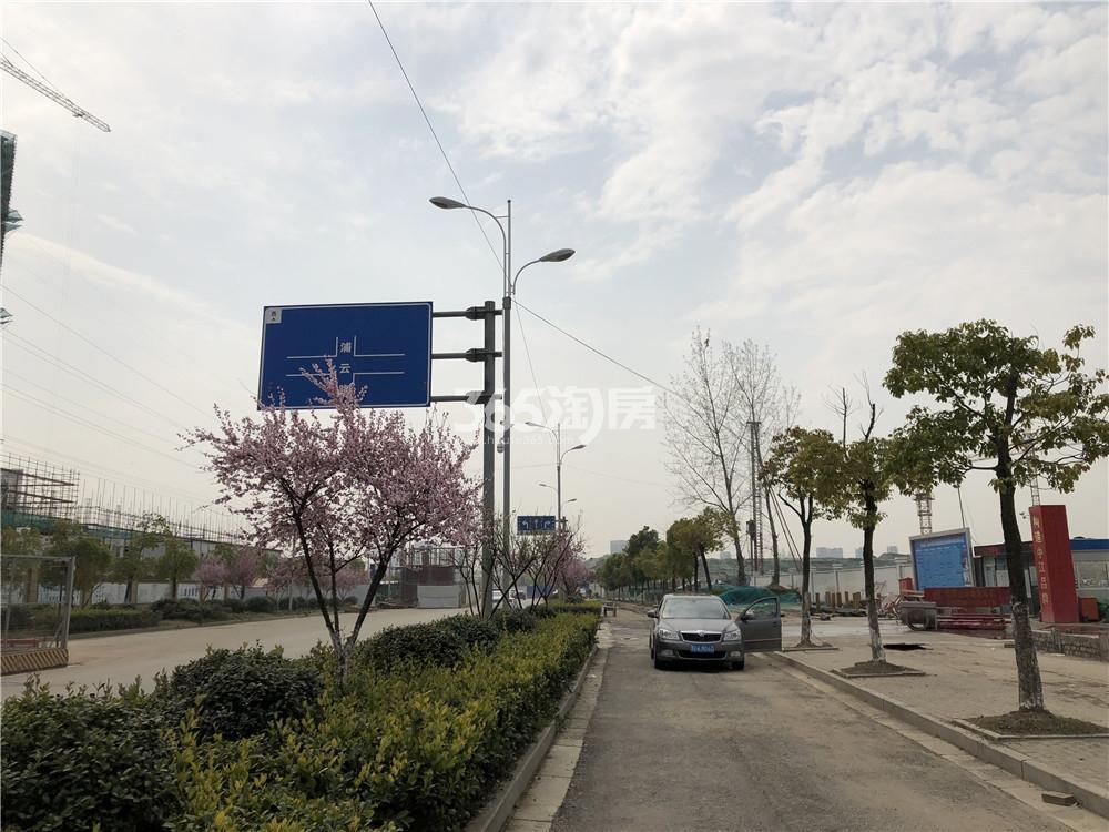 五矿江浦G25地块周边实景图(3.25)