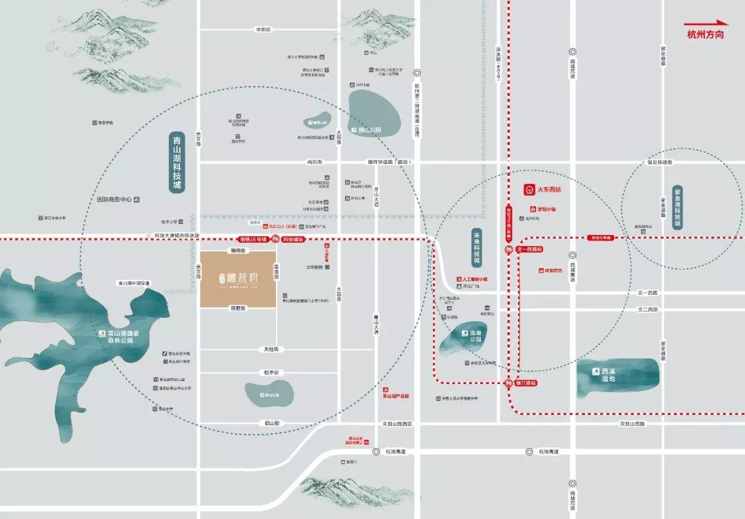 毛坯均价22000元/㎡,约200米地铁盘首开创临安房价新高