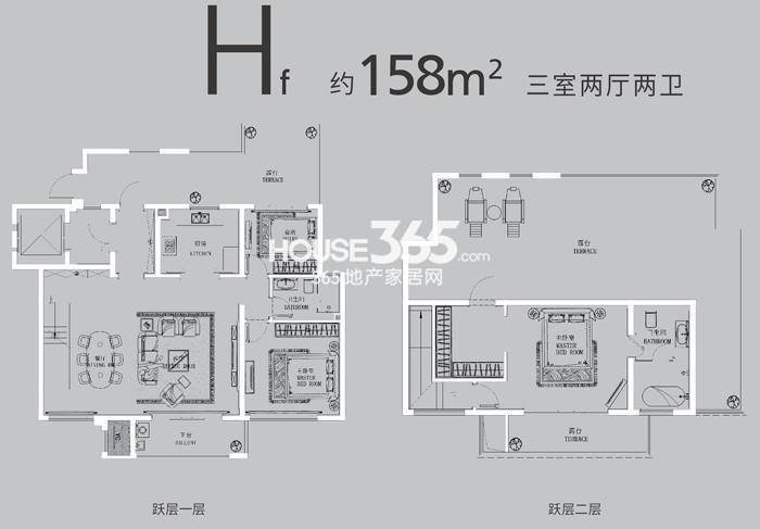 升龙公园道Hf158平