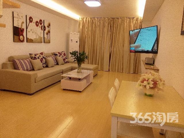 SOHO现代城2室1厅1卫90�O整租精装