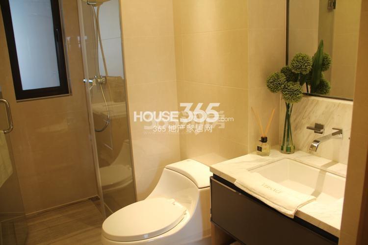 雅居乐国际花园D3户型59方样板房——卫浴