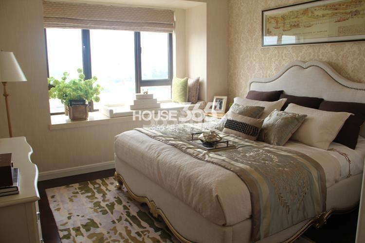 雅居乐国际花园A1户型117方样板房——卧室