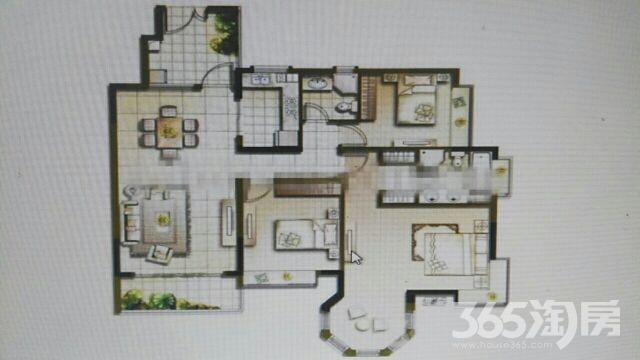 万福城2室2厅1卫85平米整租精装