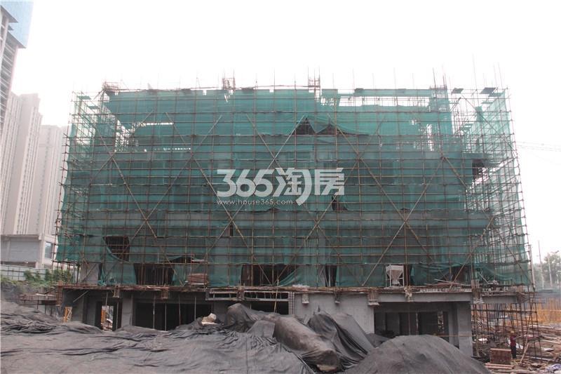 1#楼珑寓 主体结构已修建至3层