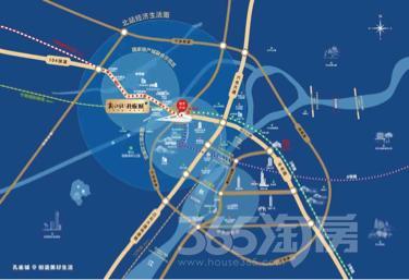 昆山新江北孔雀城3室2厅2卫93.7�O