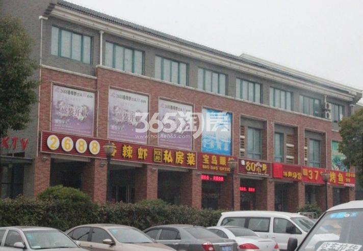 保利西山林语周边沿街商业(2018.1.29)