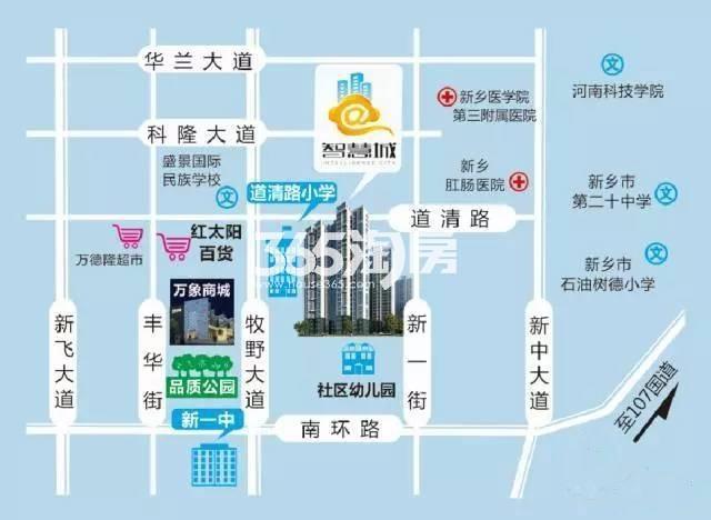 智慧城交通图