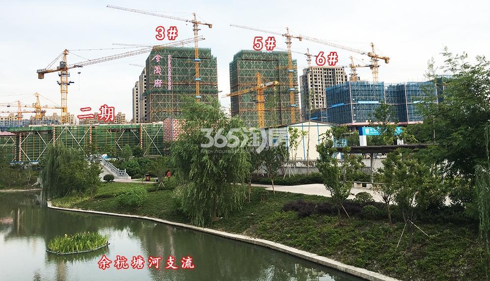 2018年6月底首开杭州金茂府一期3、5、6号楼、二期及周边实拍