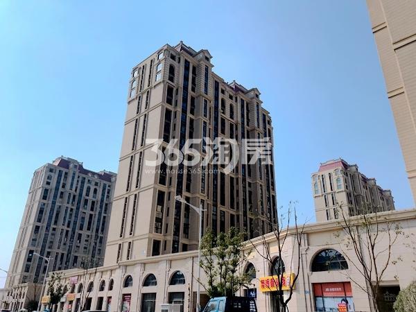 太平洋城中城一期沿街商铺实景(2017.11)