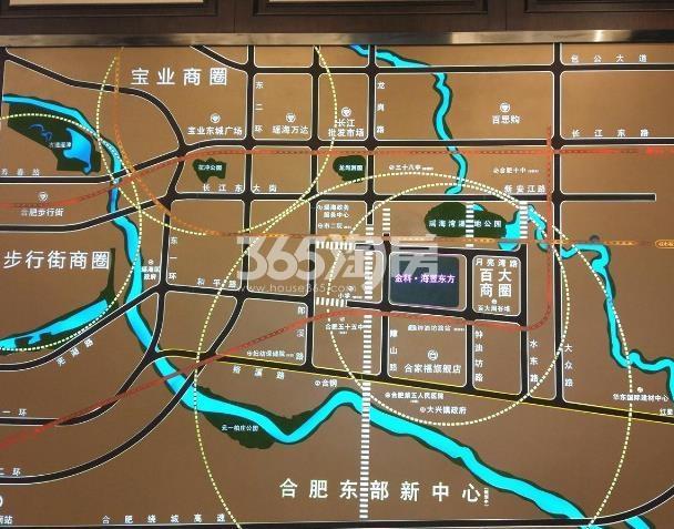 金科海昱东方区位实景图(2017.11.7)