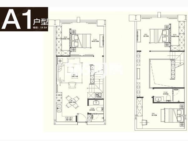 loftA1户型