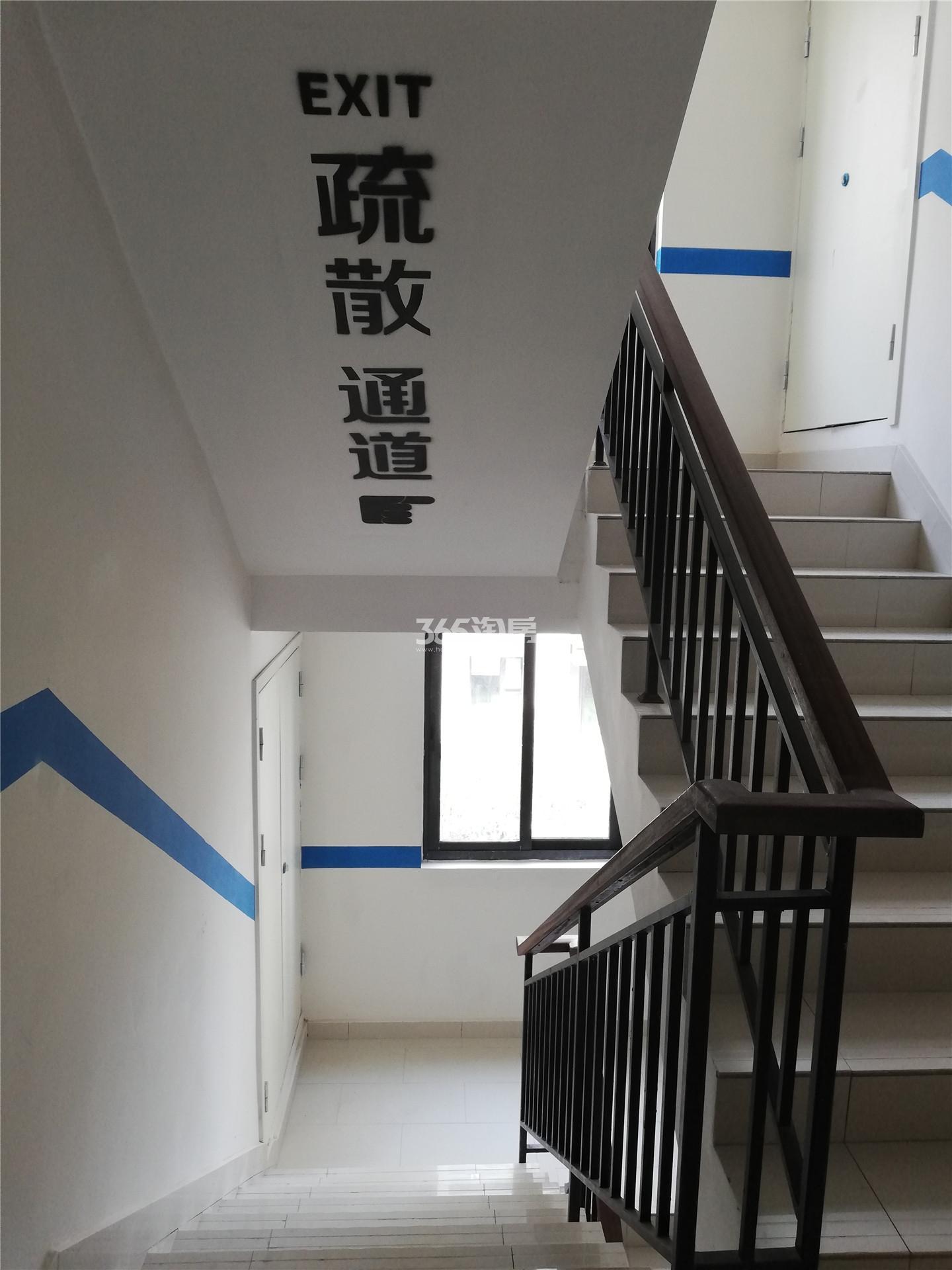 悦风华叠墅交付实景图(3.30)