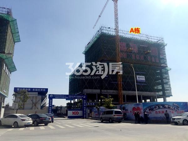 阳光100喜马拉雅A栋公寓工程进度实景(2018.3摄)