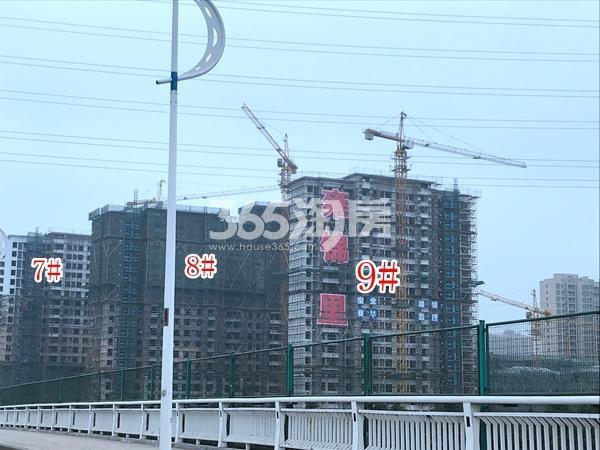 蓝光雍锦里高层7-9#楼实景图(2018.6 摄)