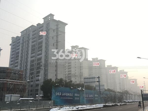 西溪碧桂园实景图