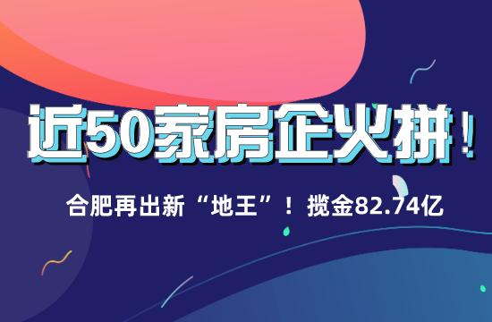 """近50家房企火拼!合肥再出新""""地王""""!"""