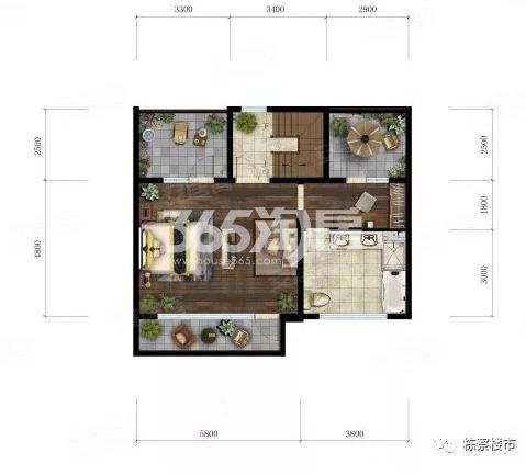 龙湖九里晴川项目户型图