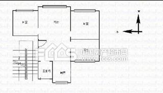 南宝带3室2厅2卫117平米90万元产权房毛坯2003