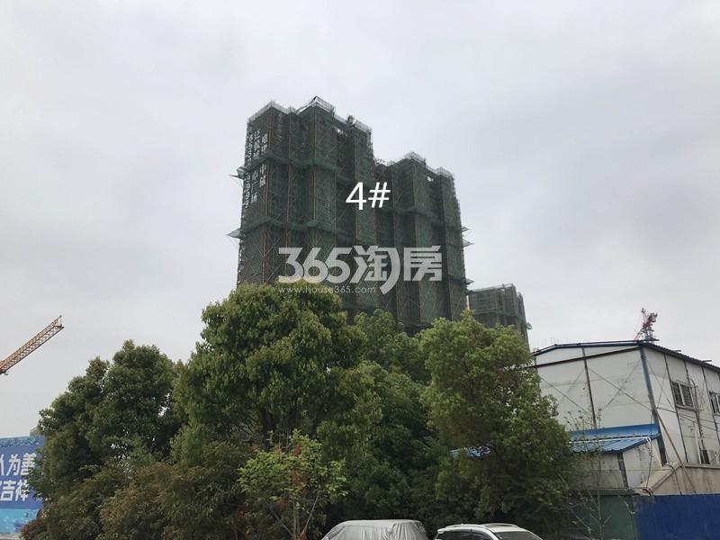 电建中储泛悦城市广场4#实景图(6.15)