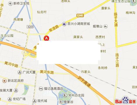 九洲花园缇香郡交通图