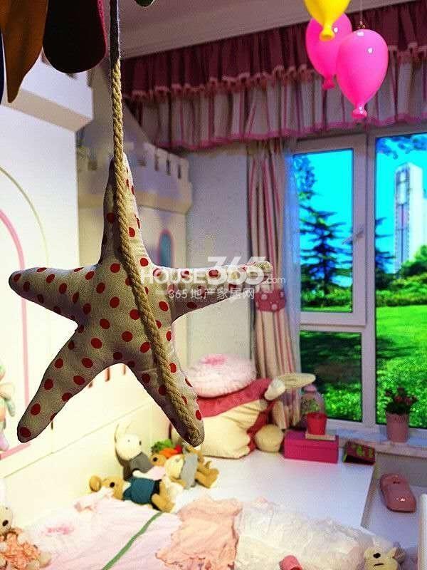 天朗大树D2户型三室两厅两卫一厨119㎡样板间儿童房