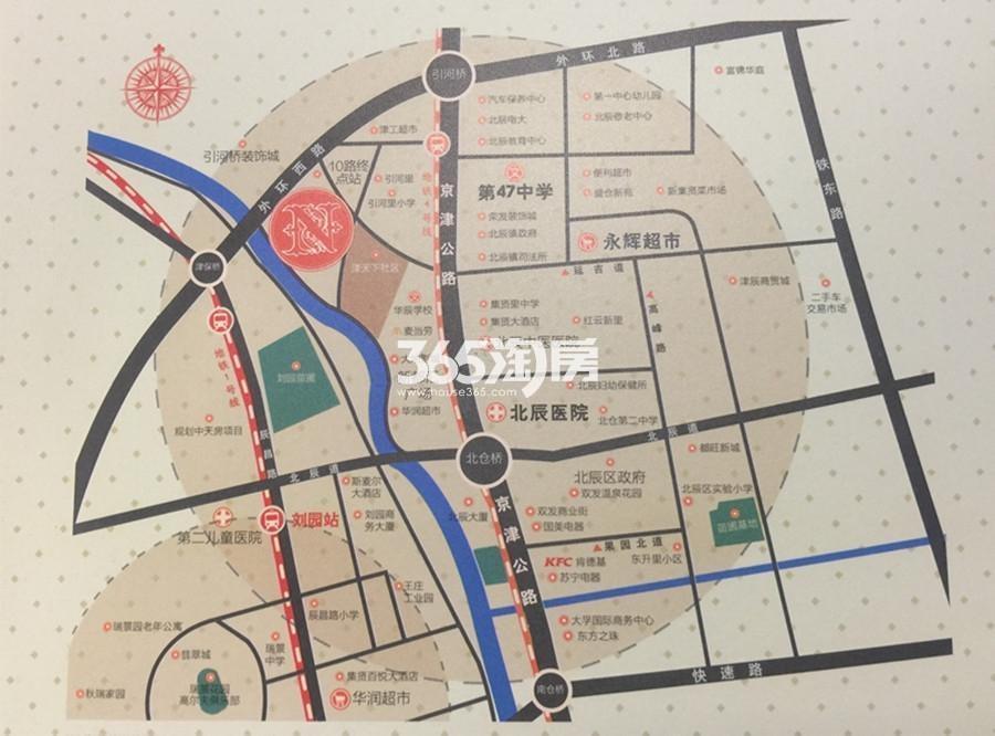 诺丁郡交通图