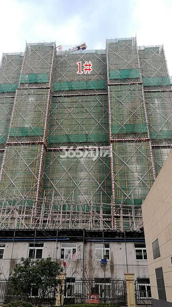 百好锦园1#楼高层工程进度(2018.2)