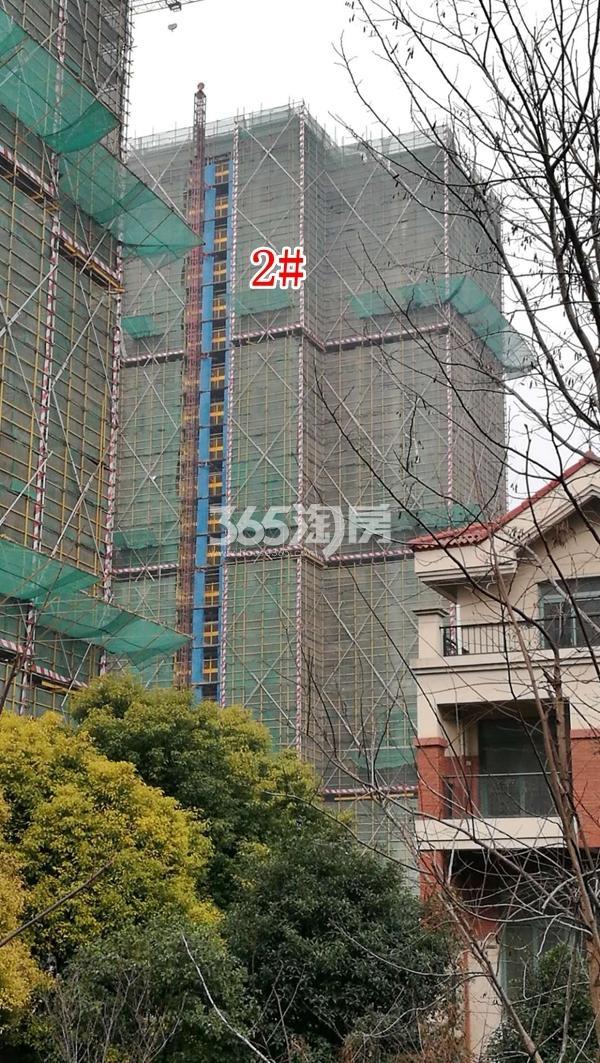 百好锦园2#楼高层工程进度(2018.2)