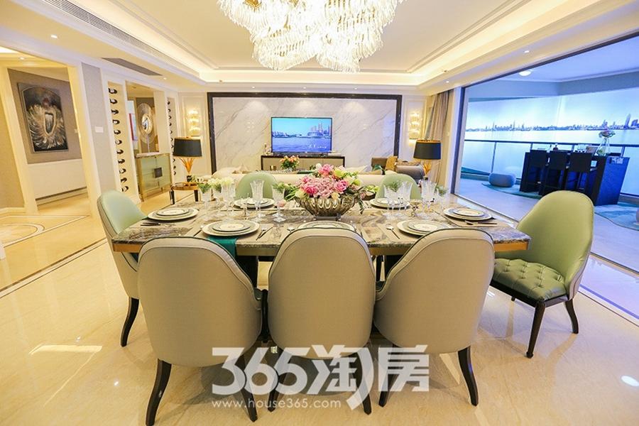 伟星长江之歌二期天誉江川约270㎡样板间-餐厅