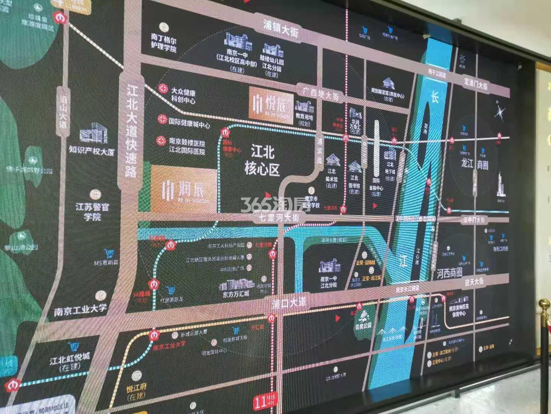 悦辰府交通图