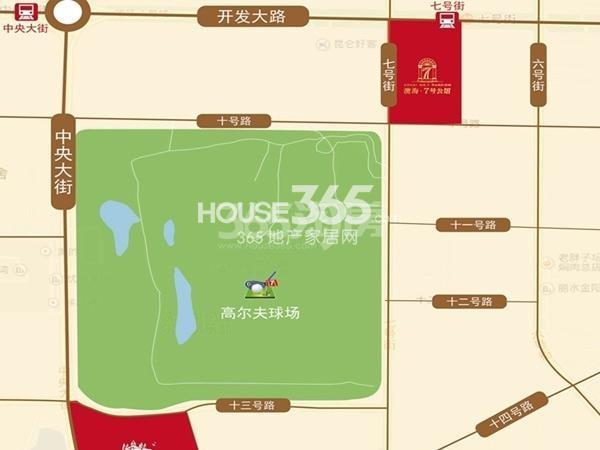 澳海7号公馆交通图