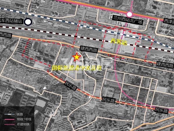 国际旅游港中央首府交通图