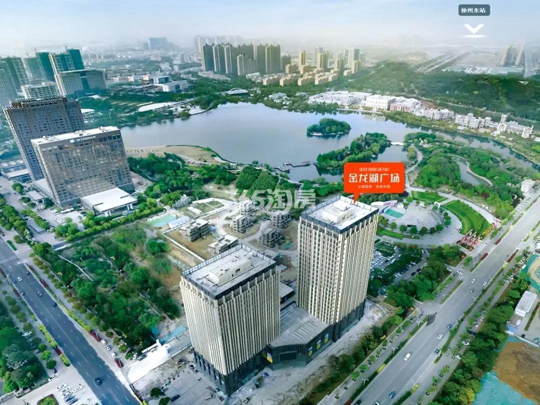 金龙湖广场实景图