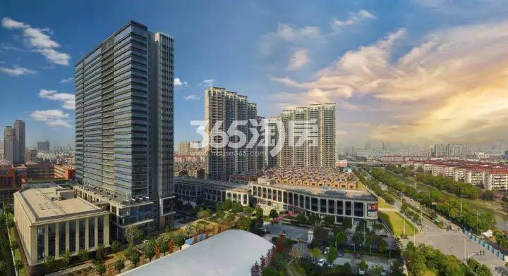 涟城写字楼整体实景图(12.21)
