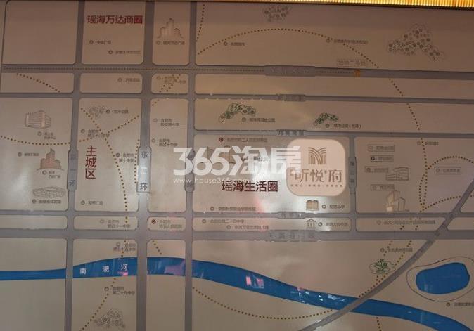 弘阳昕悦府售楼部区位图实景图(2017.12.21)