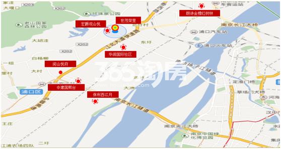 荣里项目区位图