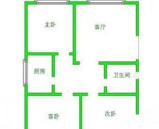 干警楼 经开区地铁口 精装好房三室一厅80平104万低价急售