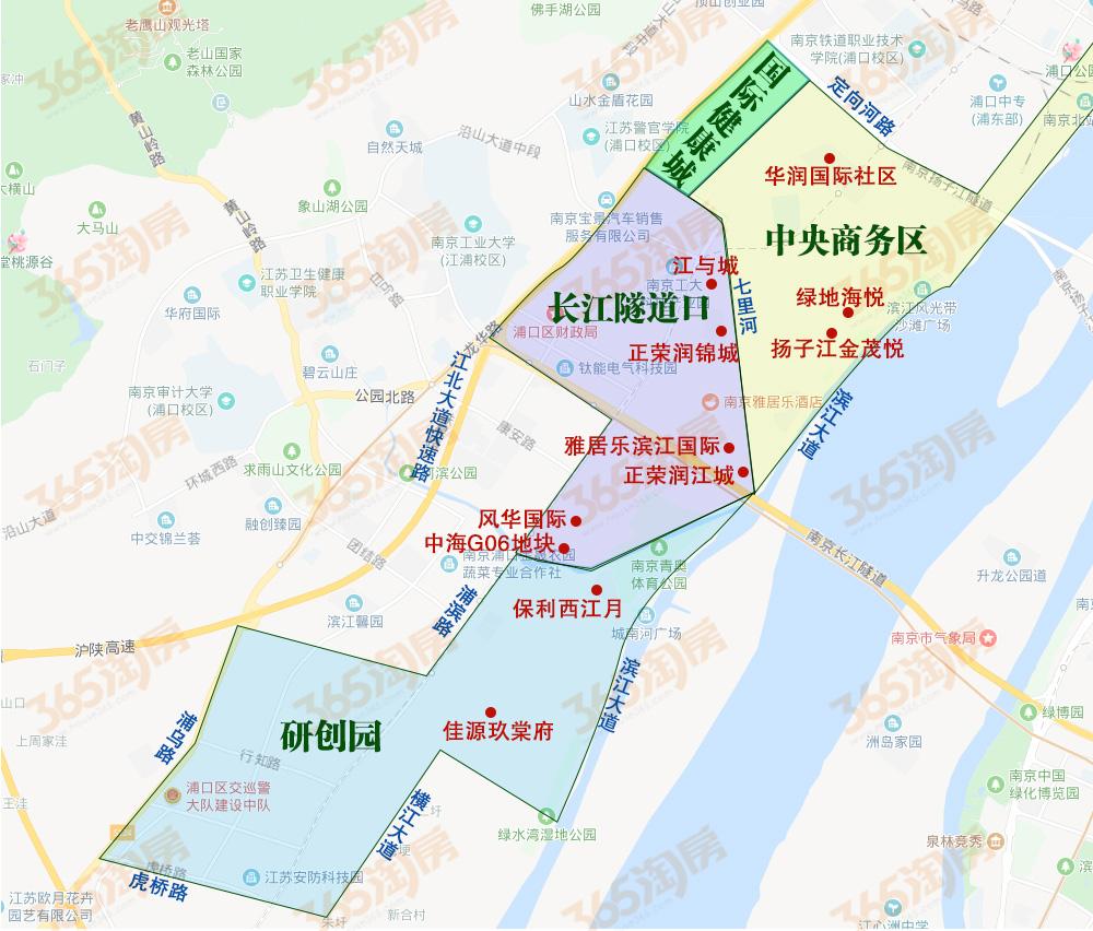 南京入手价值No.1的板块!江北核心区购买优先级是……